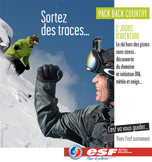Pack Backcountry ESF Serre Chevalier Briançon