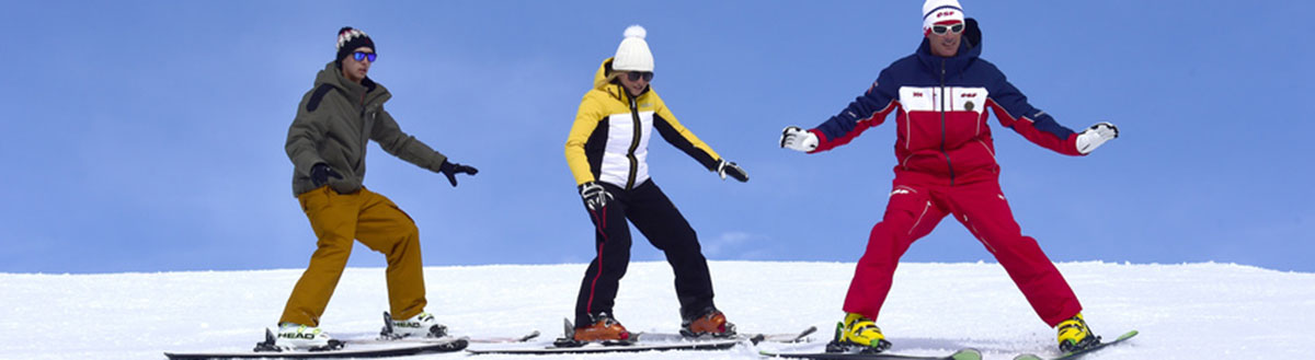 Ski group lessons for adults with ESF Serre Chevalier Briancon